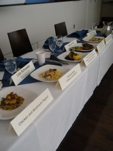 Foster Farms Chicken Competition, Judges Table