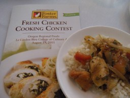 Foster Farms Fresh Chicken Cooking Contest