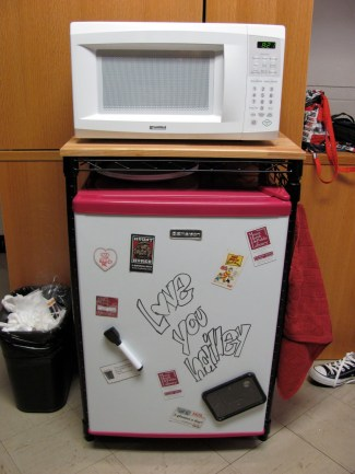 Dorm Microwave and Fridge