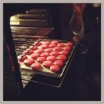 Macarons Baking